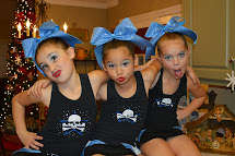 Little Girl Cheer Competition