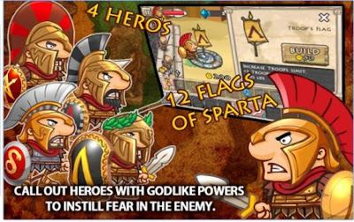 Game Strategi Taktik Perang Offline Glory Of Sparta APK Android