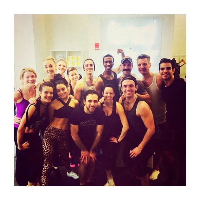 Vanessa Hudgens SoulCycle class