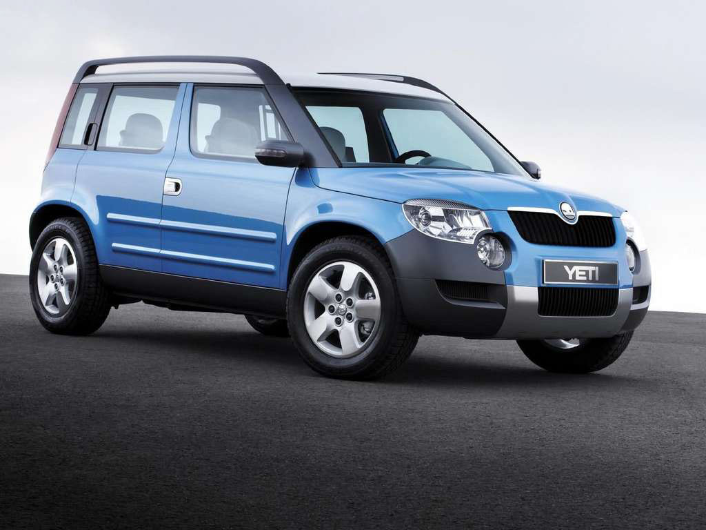 wallpapers skoda yeti car wallpapers. Black Bedroom Furniture Sets. Home Design Ideas