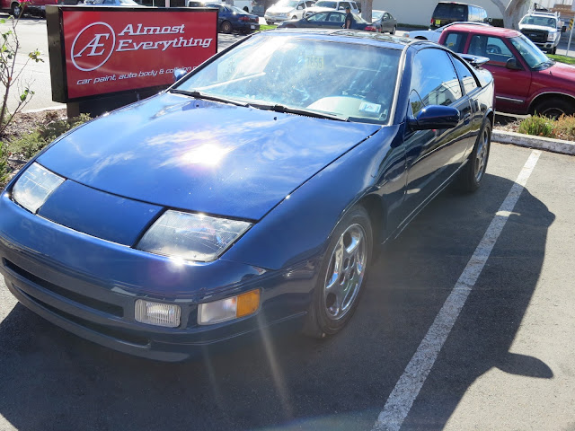1995 300ZX after collision repairs and paint at Almost Everything Auto Body