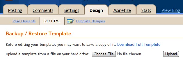 Blog animated header - Div id header ...
