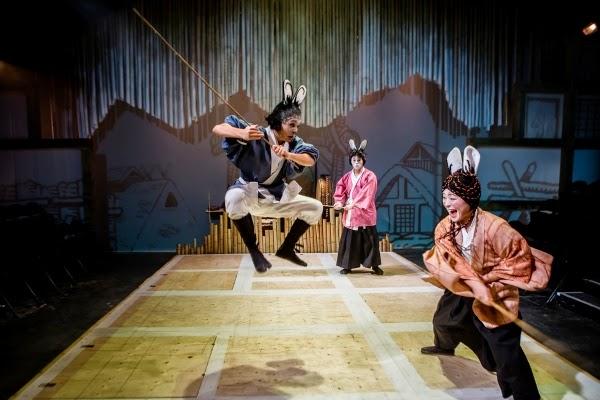 Usagi Yojimbo at the Southwark Playhouse