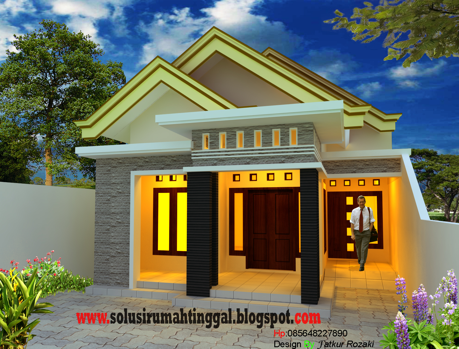 teras minimalis solusi rumah tinggal