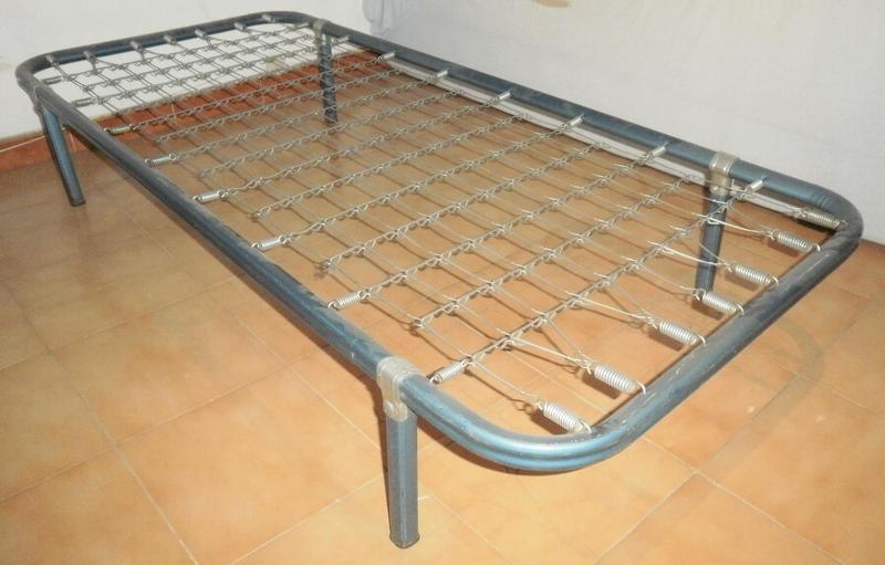 3 somier de muelles cama individual - Estructura cama individual ...