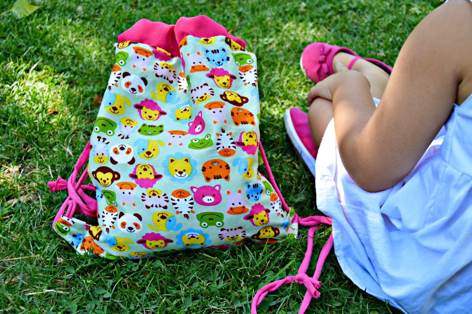 mochila personalizada las cosas de maripi blog infantil mama de noa