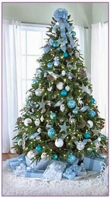 A mi manera c mo decorar el pino de navidad - Como adornar mi arbol de navidad ...