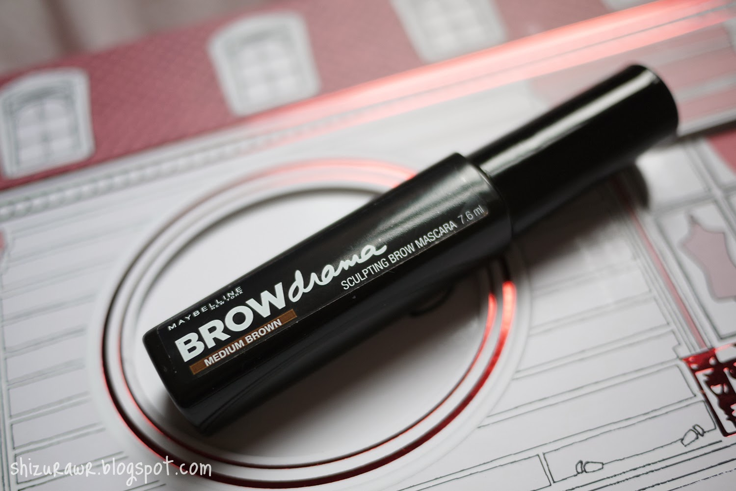 how to use maybelline brow drama sculpting brow mascara