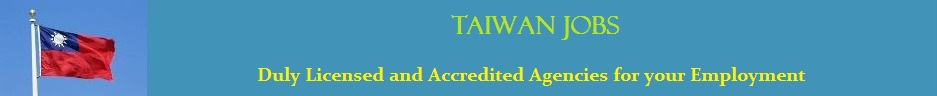 Taiwan Jobs