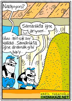 napıyon karikatür