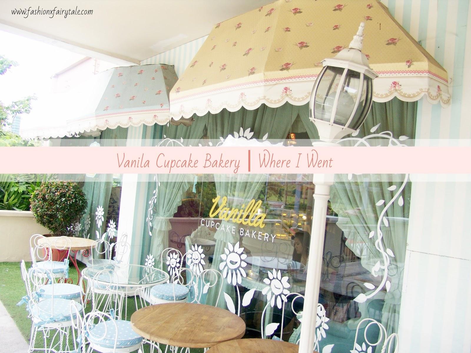 Vanilla Cupcake Bakery   Where I Went