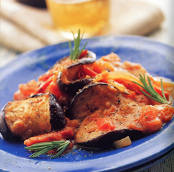 Two Jamaican recipes: Ital curry eggplant rundown and carrot sweet potato casserole