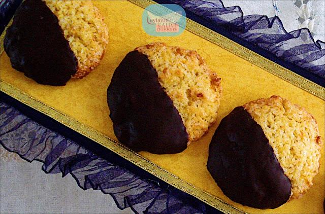 hindistancevizli kurabiye bol portakallı kurabiye