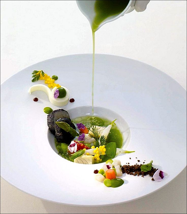 30 interesting food plating ideas by indian vegetarian recipes for Decoration a l assiette