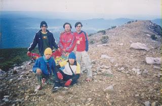 pendaki gunung dempo