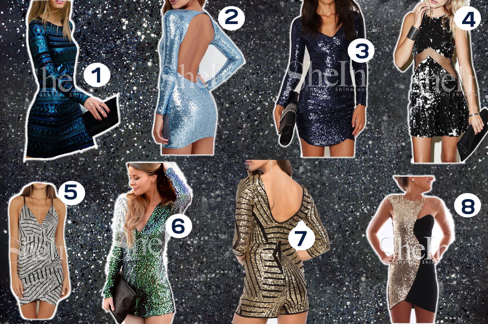 sukienki z cekinami gdzie kupić