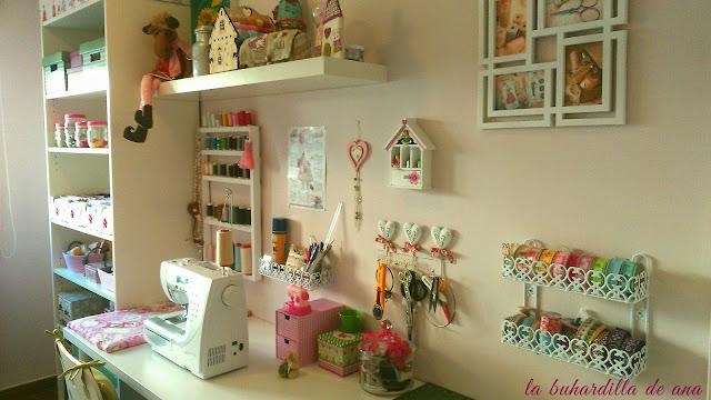 La buhardilla de ana mi cuarto de costura for Como disenar mi habitacion