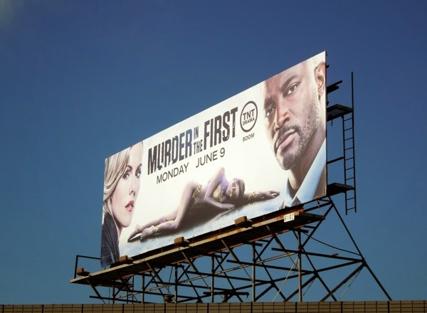 Murder in the First series premiere billboard