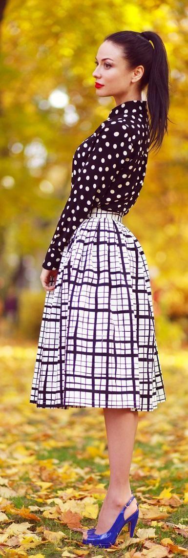 Top 10 Most Beautiful Dot Print Wears