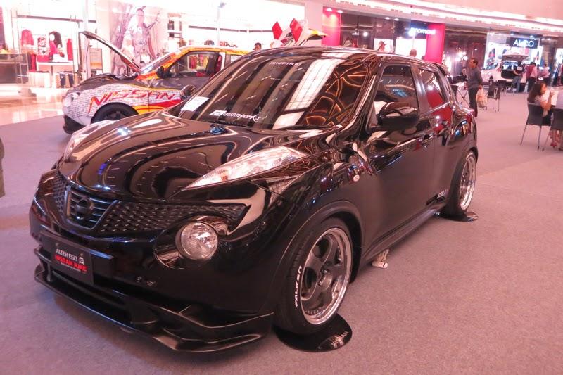 Modifikasi Nissan Juke Elegan