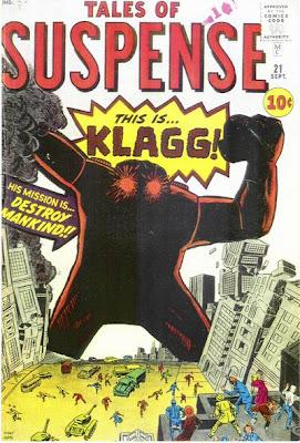 Tales of Suspense #21, Klagg
