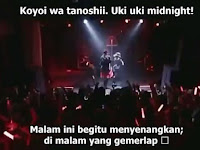 BABYMETAL - Uki Uki ★ Midnight Romaji Terjemahan Indonesia[MP4]