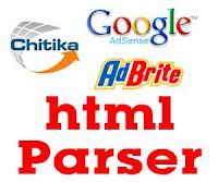 html parser adsense