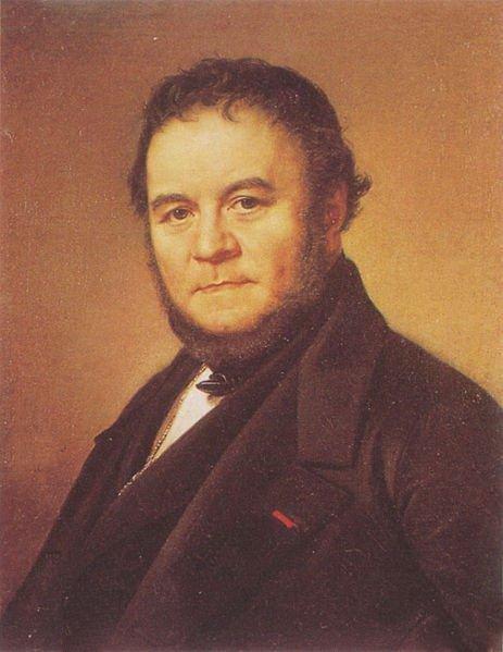 Stendhal Portrait 1840 | Södermark