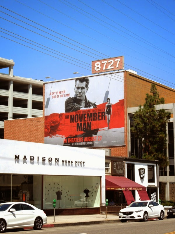 The November Man billboard