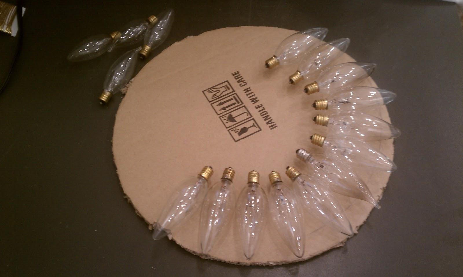 Nadia 39 s diy projects diy light bulb wreath and tree for Light bulb diy projects