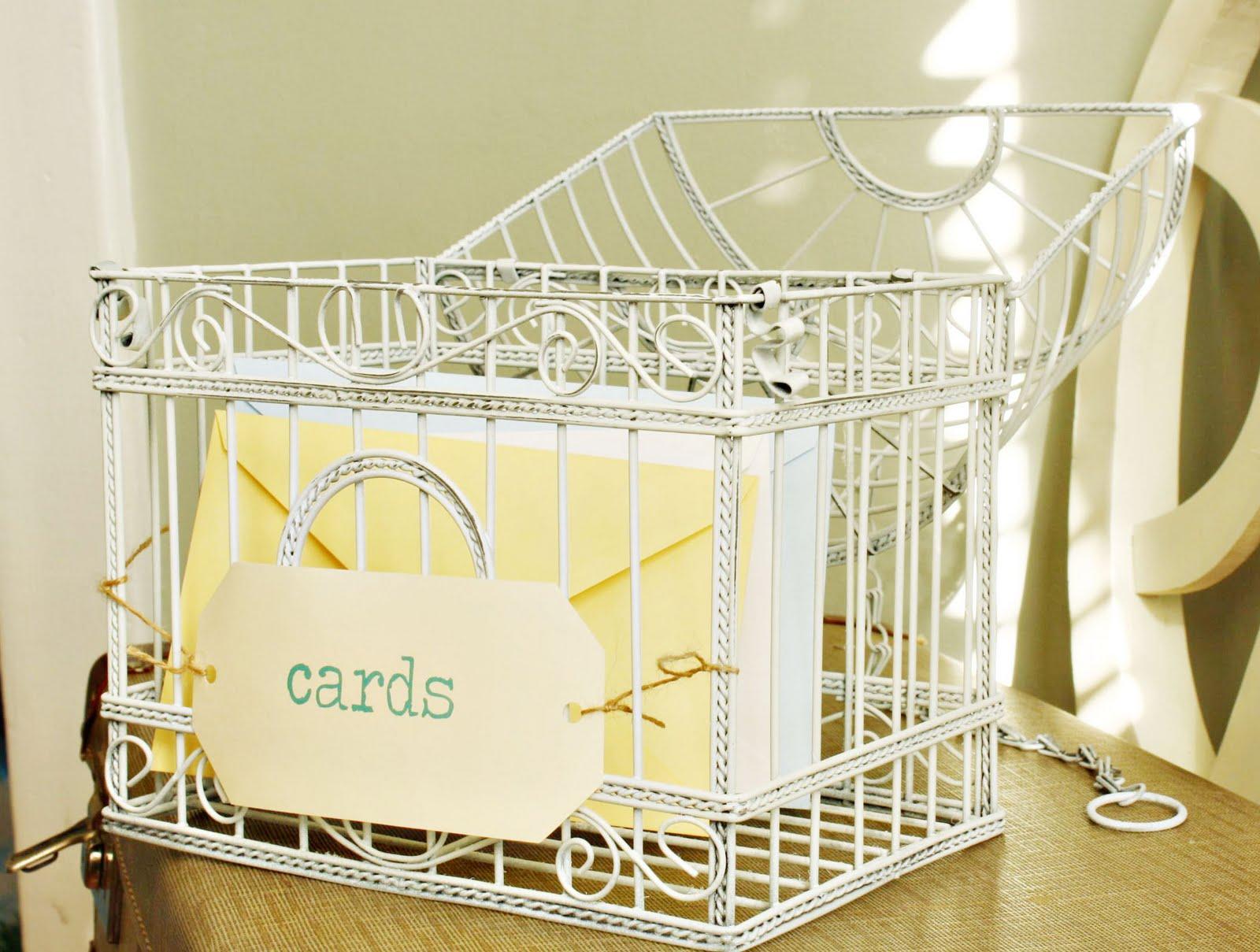 Lather Write Repeat Delightful DIY Vintage Birdcage Wedding