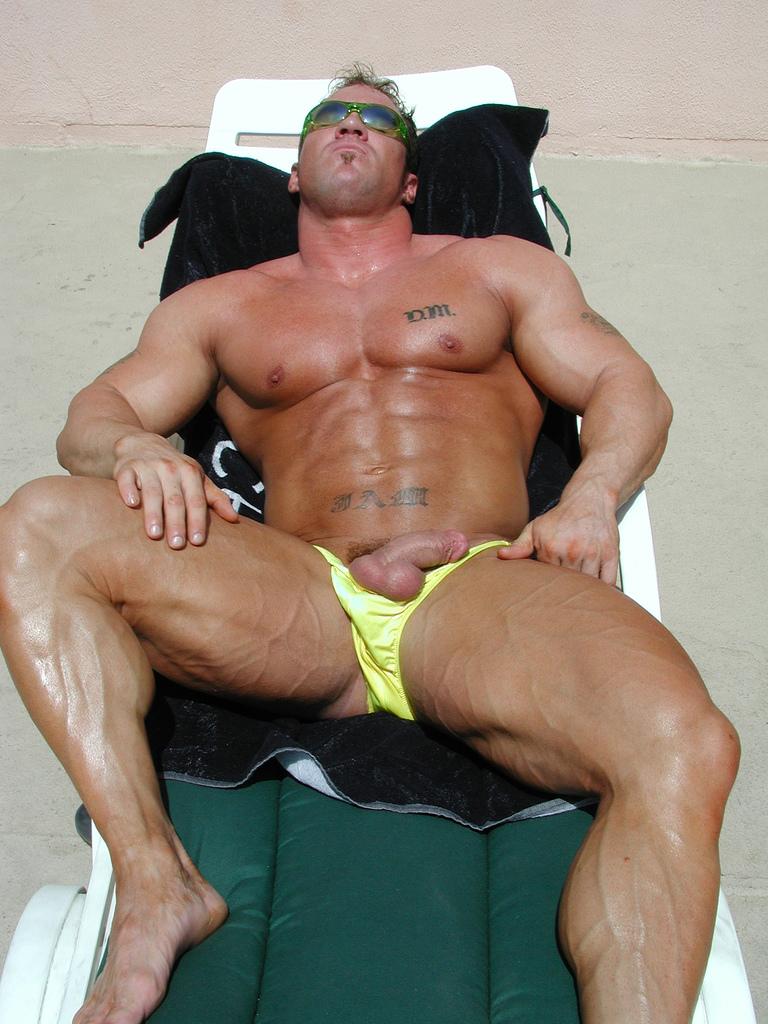 Ceaser jake gay muscle
