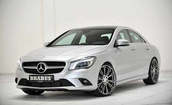 Mercedes-Benz CLA tuned by Brabus