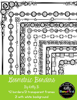 https://www.teacherspayteachers.com/Product/Geometric-Borders-by-Kelly-Benefield-2102426