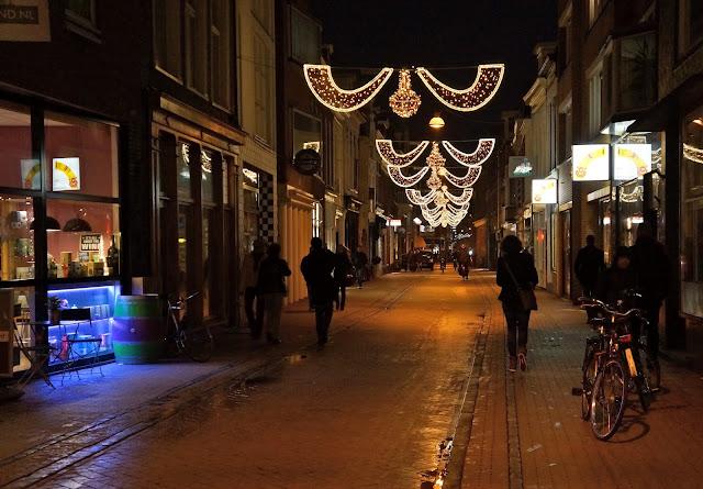 Afbeelding van de Folkingestraat, Groningen.
