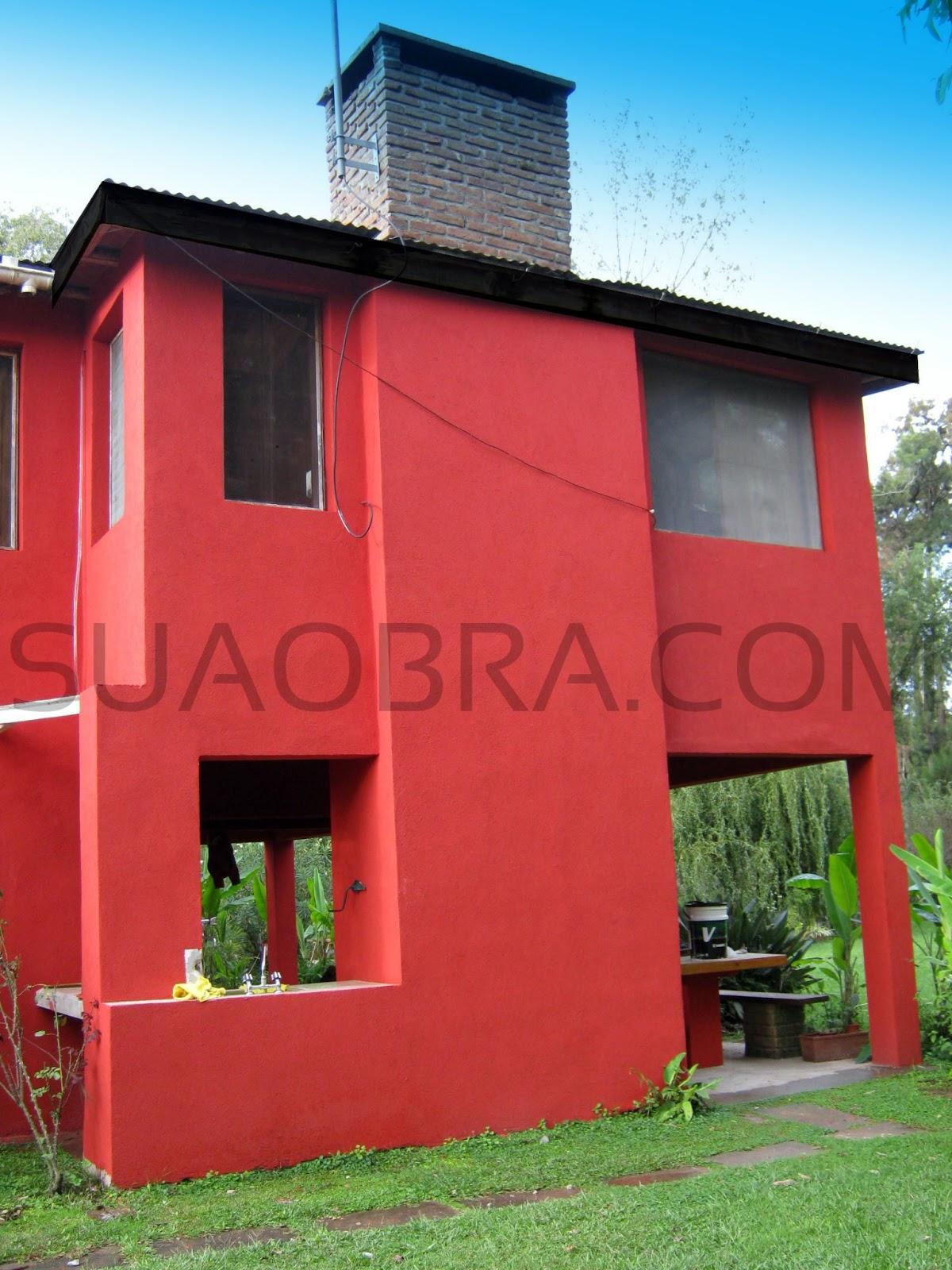 Revoque pl stico color revestimiento texturado zona norte - Revestimiento para exteriores ...