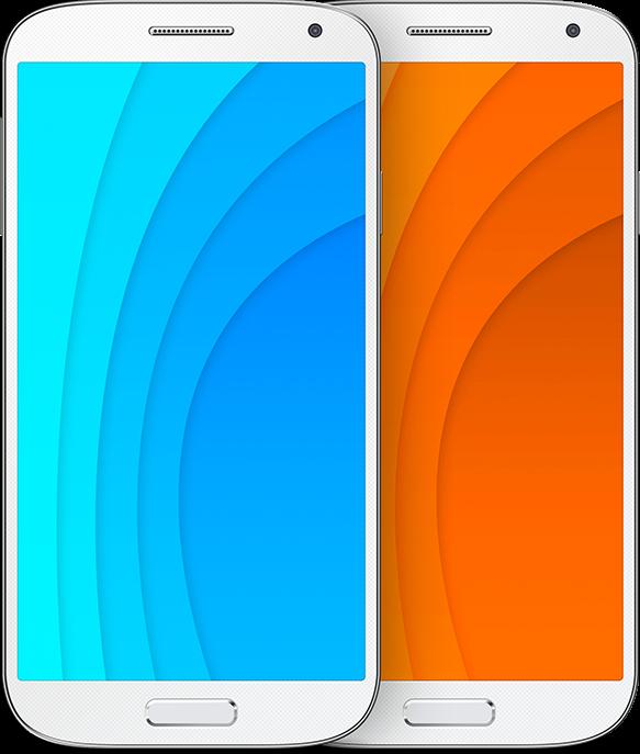Free PSD Galaxy S4 Mockup Templates