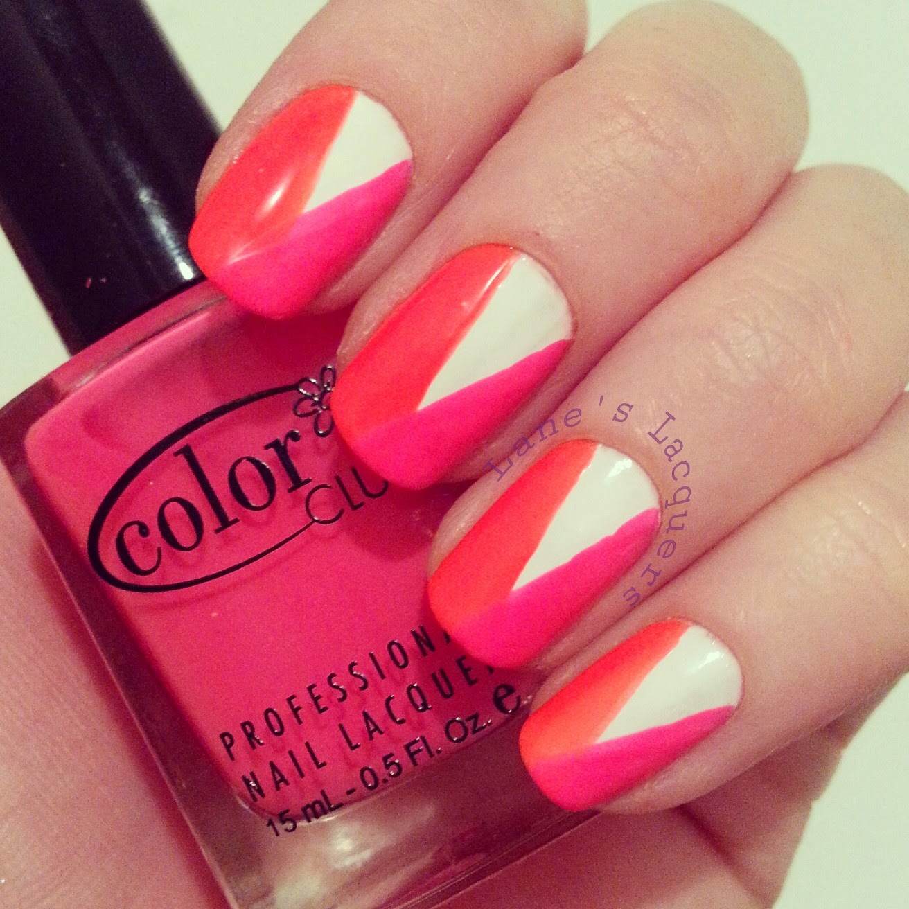 color-club-neon-white-simple-nail-art (1)
