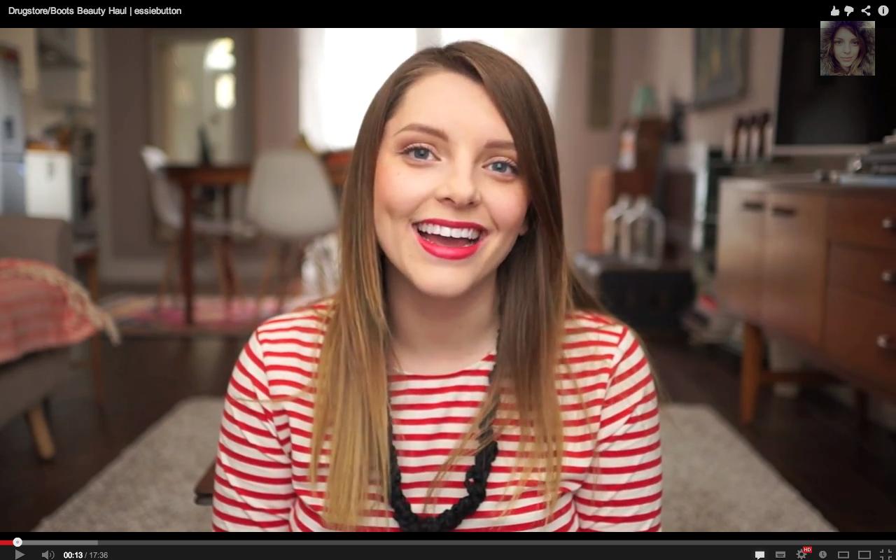 Essie Button Beauty Blogger