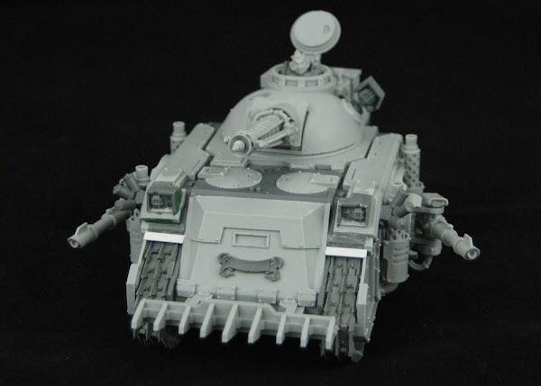 Warhammer 30k Sons of Horus  SOH+Predator+WIP+04