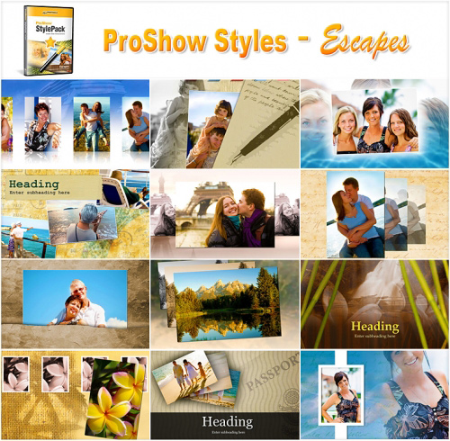 Photodex ProShow Producer 5.03 + Styles, Templates, Plugins UPdates