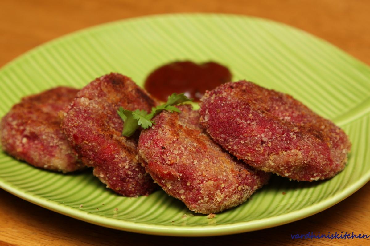 Cooks Joy Pink Vegetable Cutlet Vegetable Patties