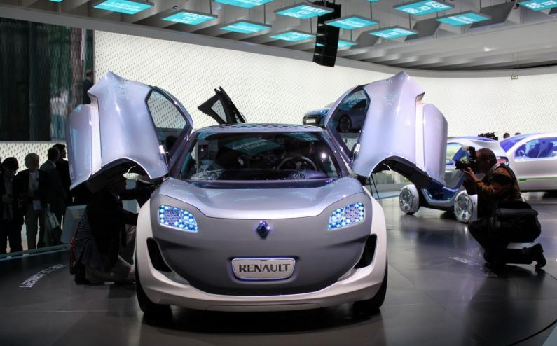 2008 Renault Zoe Ze Concept Car Pictures