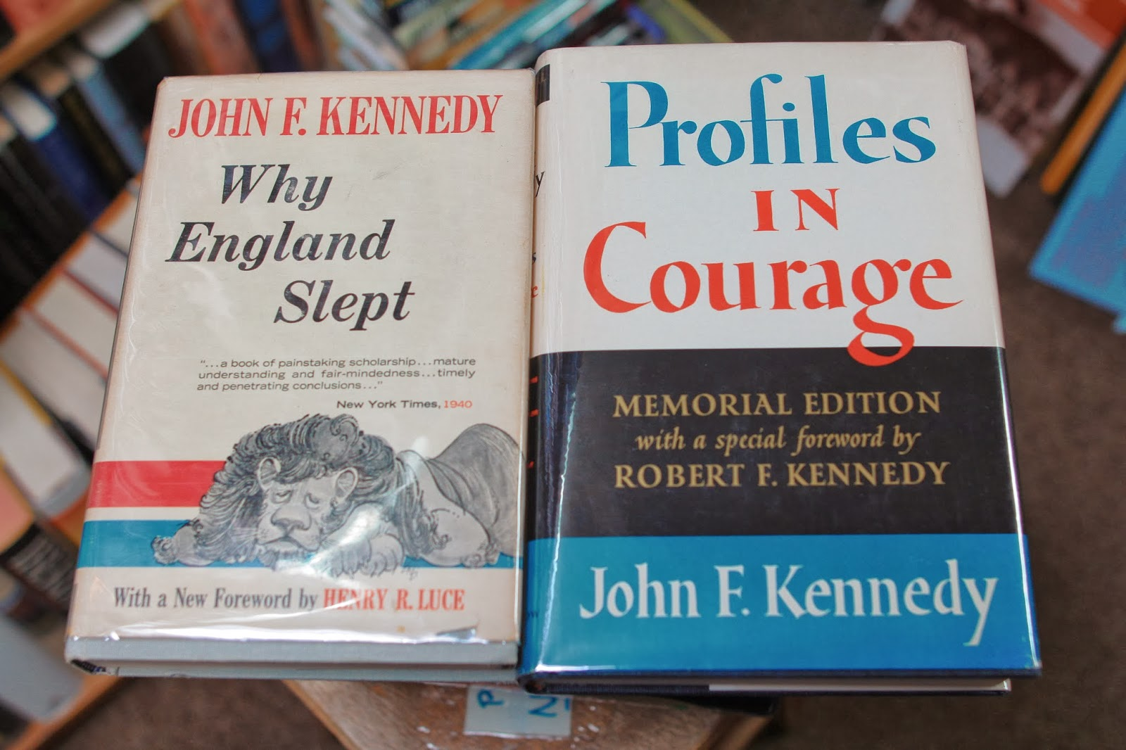 jfk thesis why england slept Profiles in courage was made into a television series of the same name john f kennedy is the only man in history that i know who won why england slept.