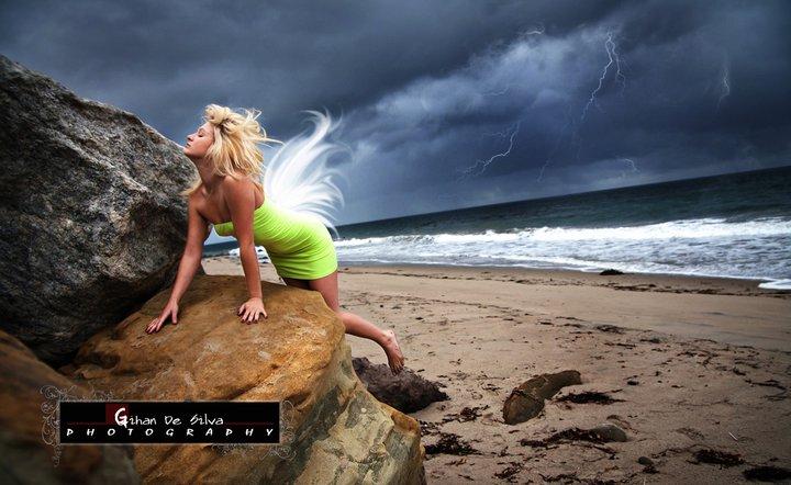 Gihan De Silva Photography: Desirea Daniels in Malibu Beach, California