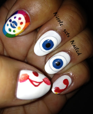 Fisher Price Chatter Telephone Nail Art