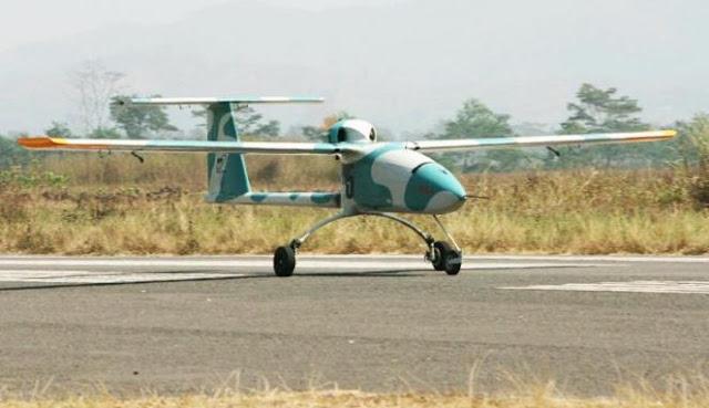PT Dirgantara Indonesia Produksi Pesawat Nirawak PUNA Wulung