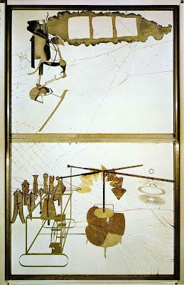 Marcel Duchamp - The bride stripped bare by her bachelors,even