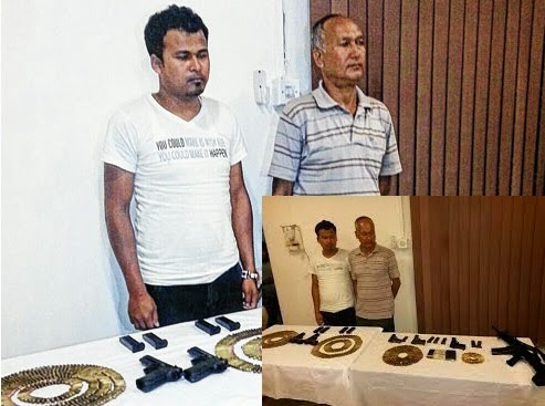 Umesh Kami and Ganesh Chhetri arrested in the Rangli-Rangliot arms case
