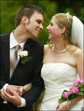 In the e mails useful tips for newly married couples
